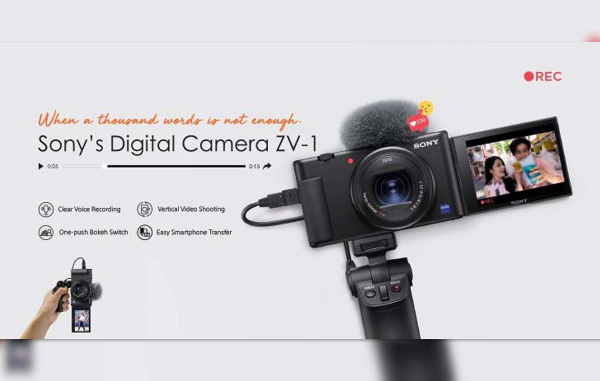 Sony Digital Camera ZV-1 is Now Open for Pre Orders