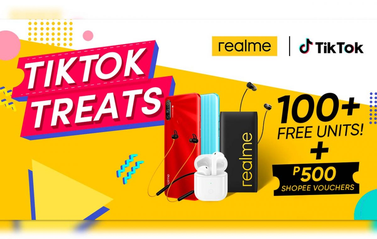 Redeem realme Devices by Joining the realme x TikTok Online Campaign