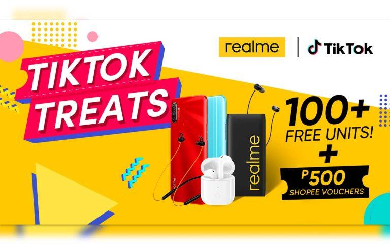realme x TikTok online campaign