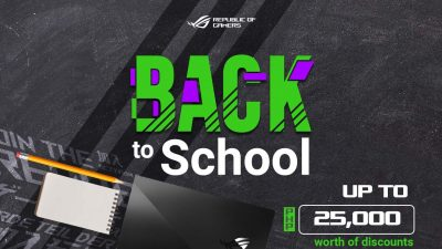 ASUS ROG Back-to-School Promo is Back with Discounts and Bundles