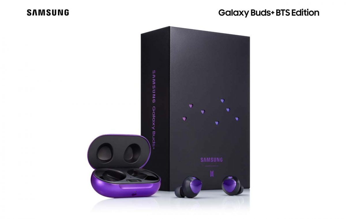 Samsung Galaxy Buds+ BTS Edition is Now Available in the Philippines