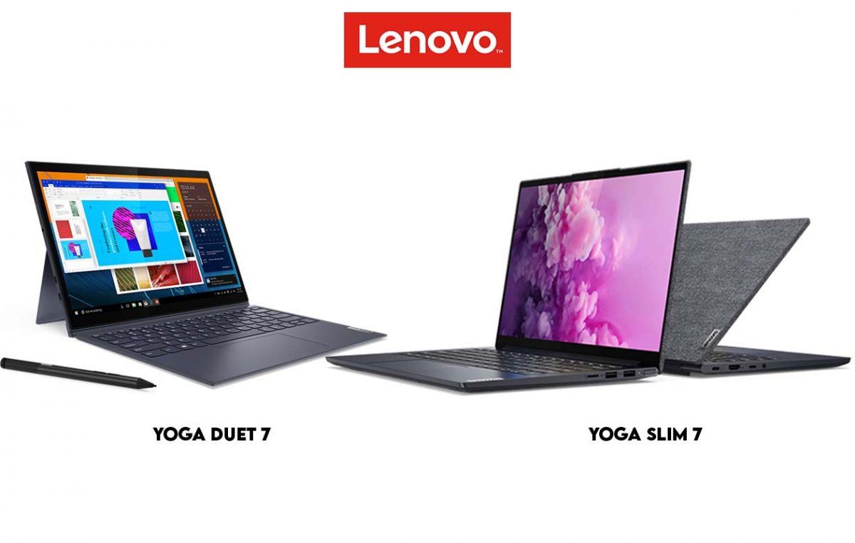 Lenovo Yoga Duet 7 and Yoga Slim 7 Now on Pre-Order in the Philippines