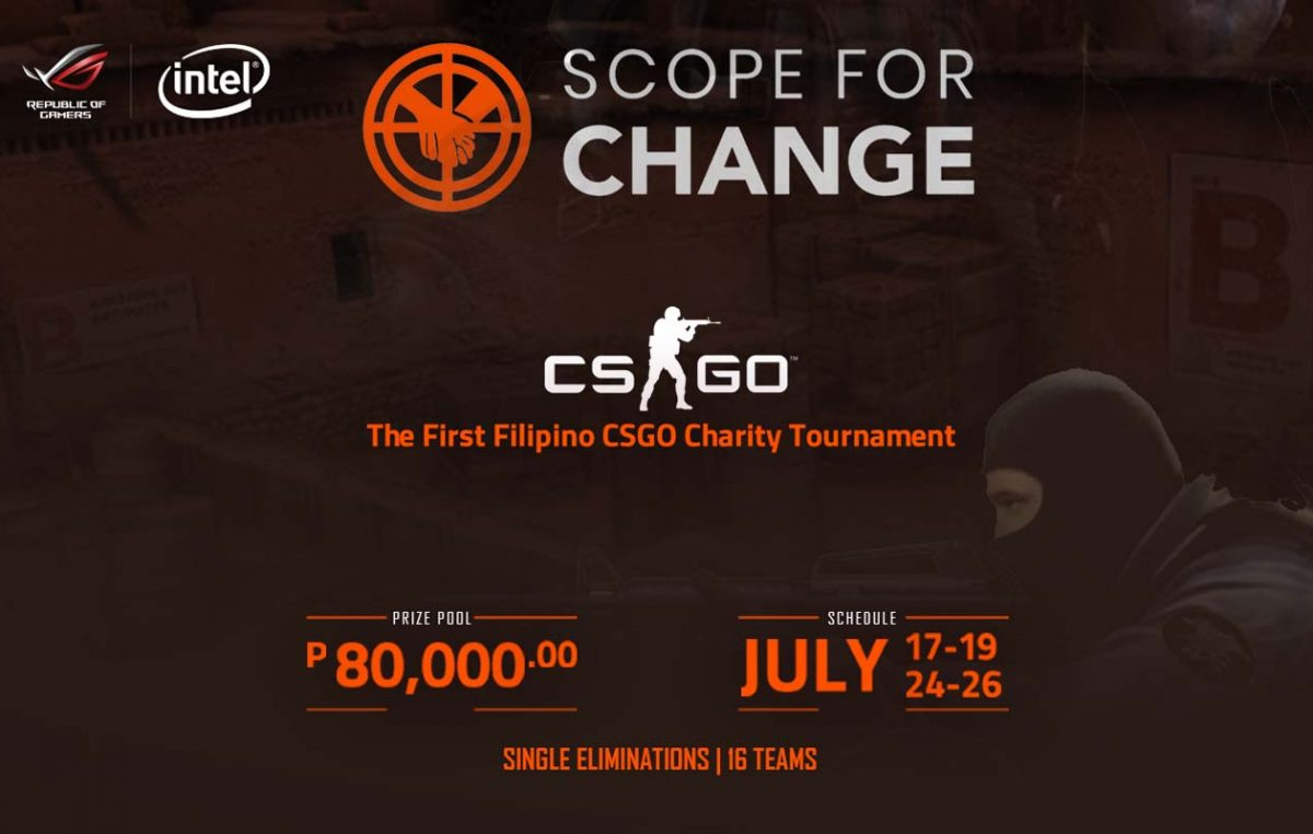 ROG PH Partners with Scope for Change CS:GO Charity Tournament