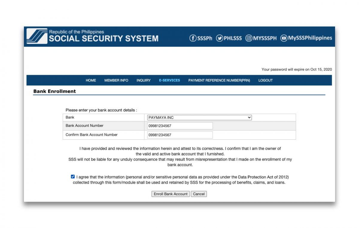 You can Now Receive Your SSS Benefits via PayMaya