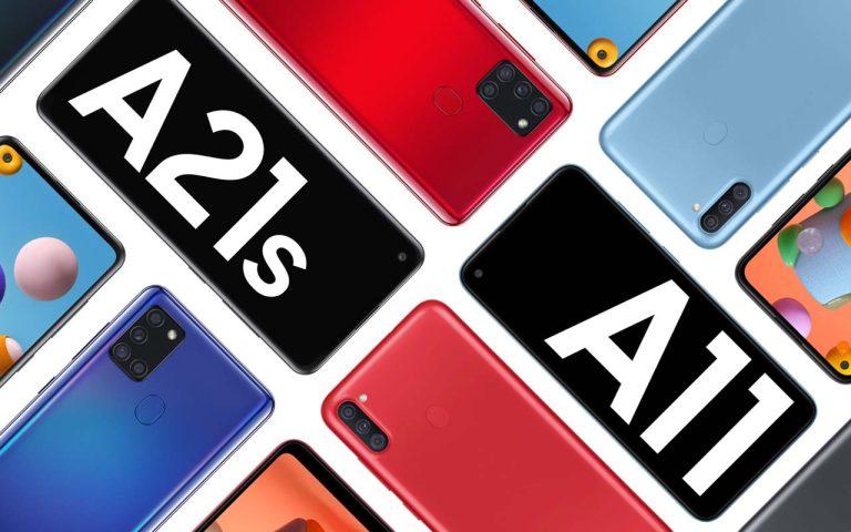 Samsung Galaxy A21s and Galaxy A11