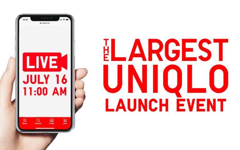 UNIQLO Online Store launch date
