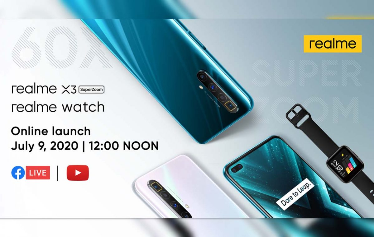 realme X3 SuperZoom and realme Watch Set to Launch in PH on July 9