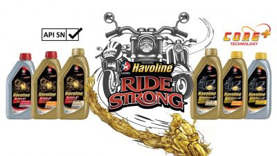 New Caltex Havoline Motorcycle and Scooter Oils Announced