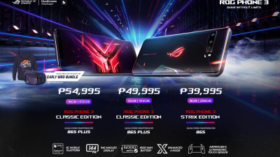 ROG Phone 3 is Now Available in the Philippines – #GameWithoutLimits