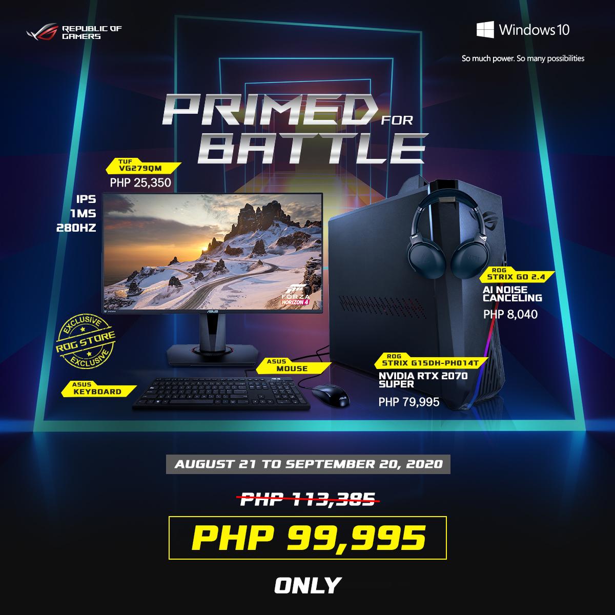 G15DH-PH014T Full Setup Promo