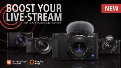 Imaging Edge Webcam – Turn Your Sony Digital Camera to a Webcam