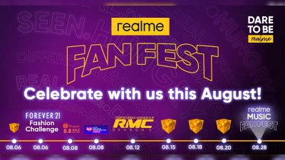 Paint the town Yellow – realme Fan Fest Month this August