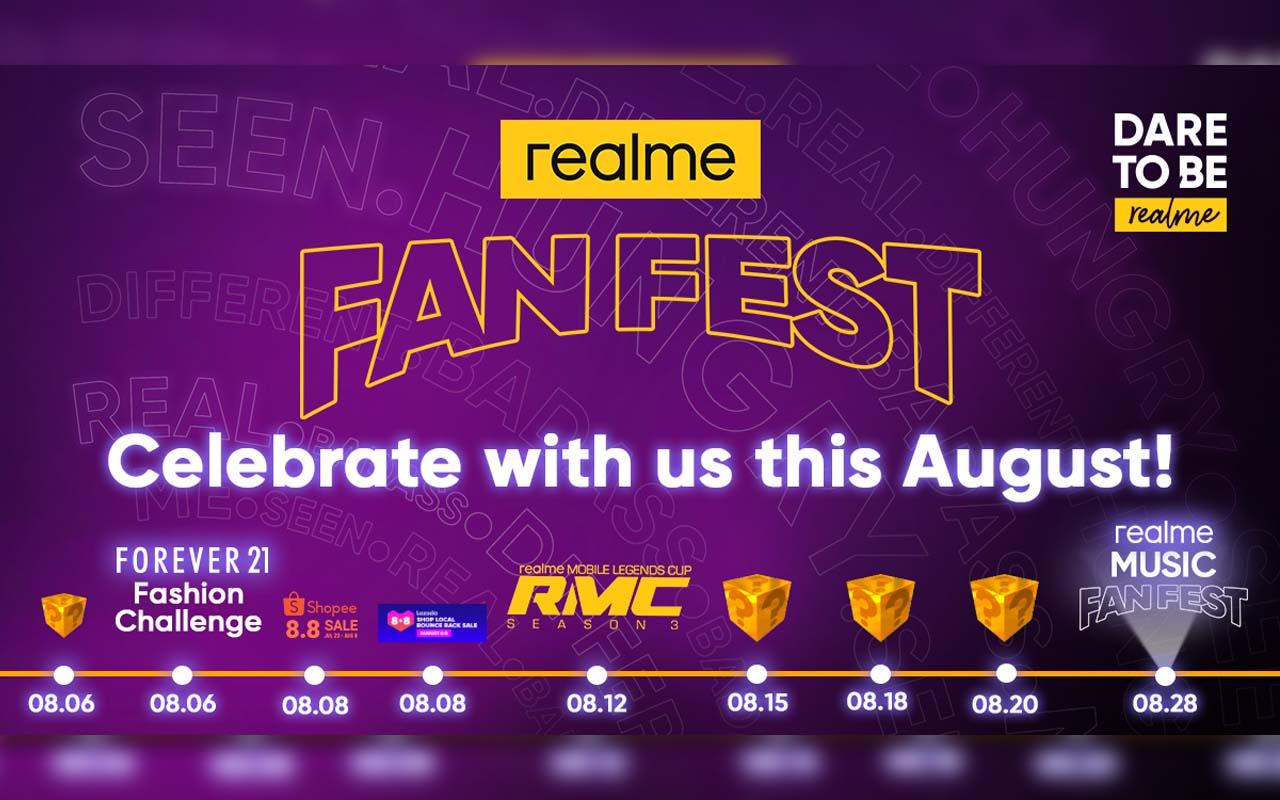 realme Fan Fest Month this August
