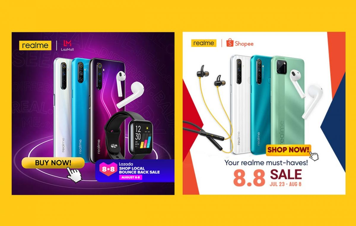 realme PH Kicks Off Its Fan Fest Month with Shopee and Lazada 8.8 Sale