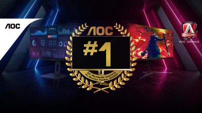AOC Monitors Ranked as the #1 PC Monitor Brand in the Philippines