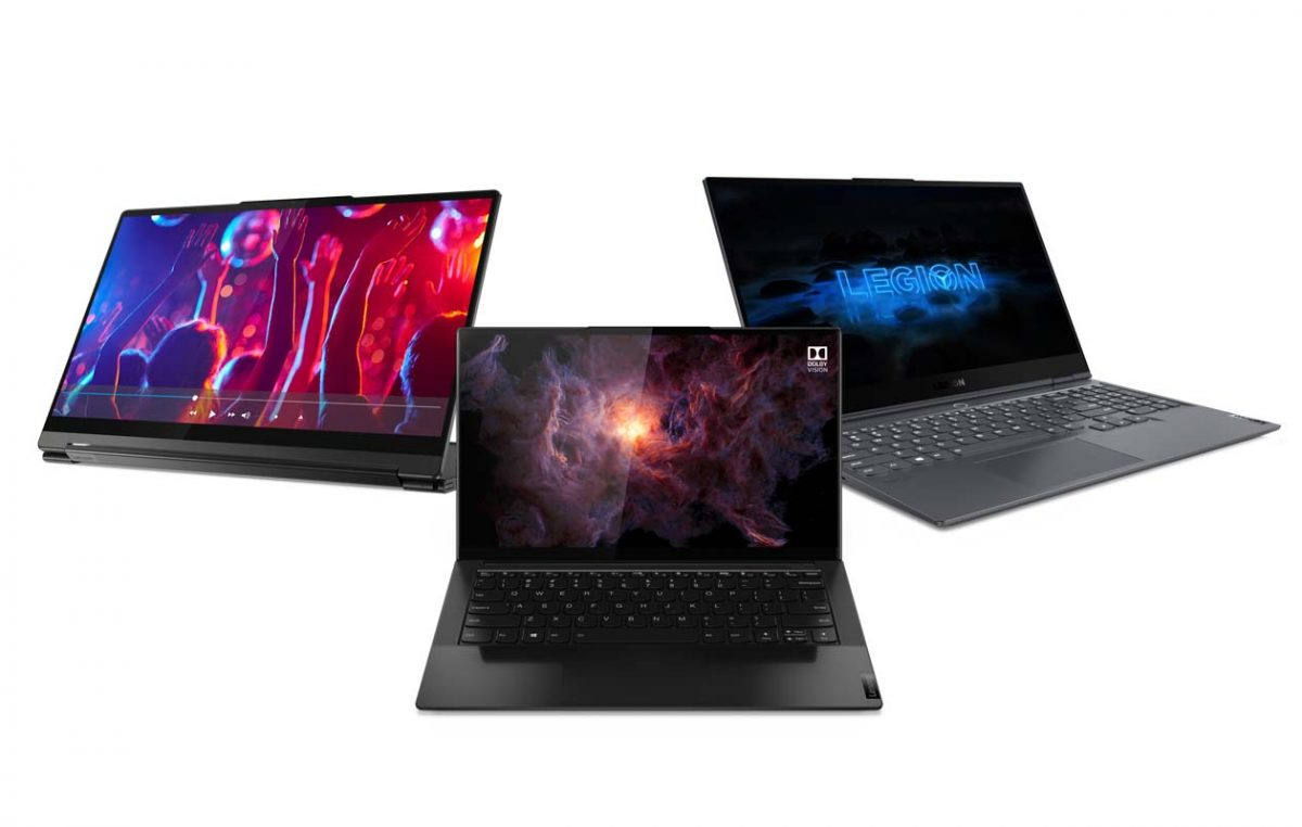 Lenovo Reveals New Yoga Slim 9i, Yoga 9i, and Legion 7i Laptops