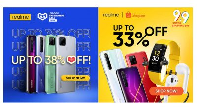 realme Goes All-Out at Shopee, Lazada 9.9 Sale – Up to 38% Off