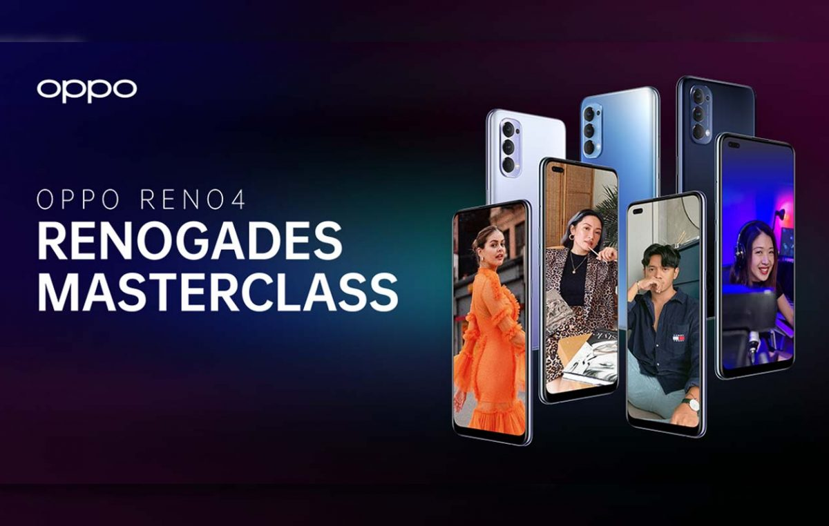 OPPO PH presents the Renogades Masterclass for Content Creators