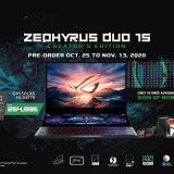 ROG Zephyrus Duo 15 Creator's Edition Now Available – Only 10 Units