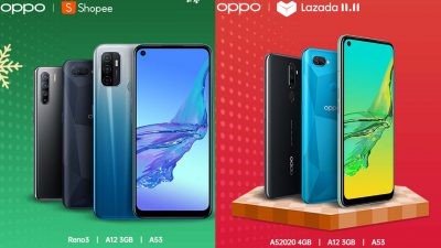 Up to 75% OFF your OPPO purchase on Shopee and Lazada's 11.11 Sale