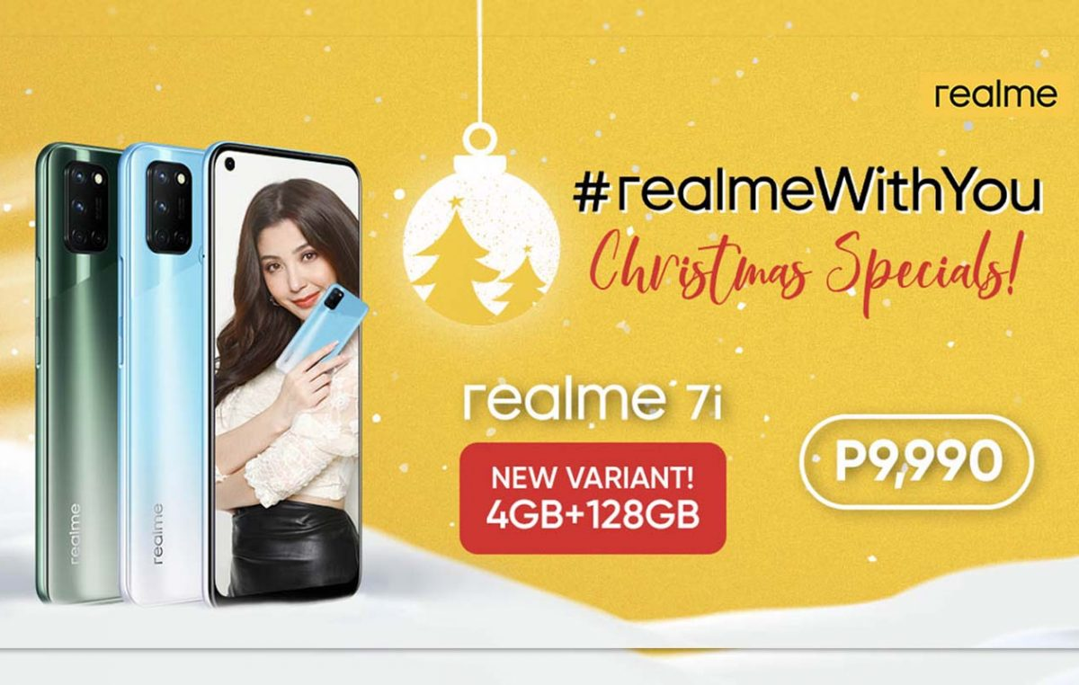 New realme 7i Variant Launched to #CaptureEveryStyle this Christmas