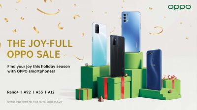 #OPPOJoyFullSale starts November 22, 2020, Just in Time for Christmas