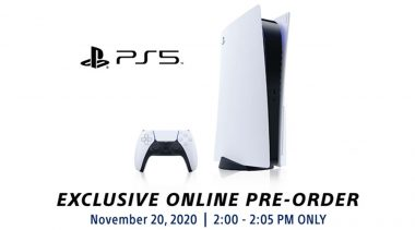 PlayStation 5 Opens Pre-Orders in the Philippines on November 20, 2020