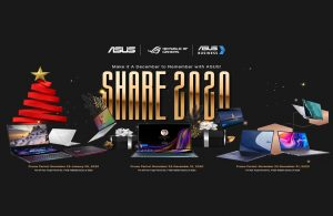 The ASUS Share 2020 is Here! Bundles and Prizes this Holiday Season!