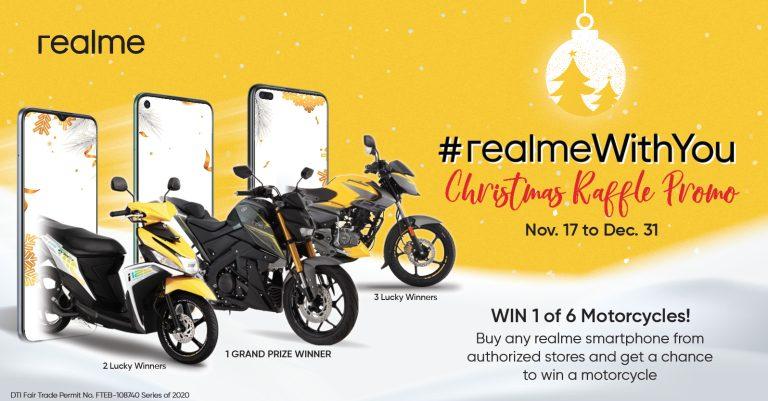 #realmeWithYou Christmas special promo