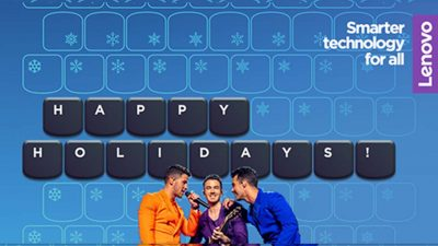 Lenovo Kicks Off the Holidays with the Jonas Brothers Virtual Concert