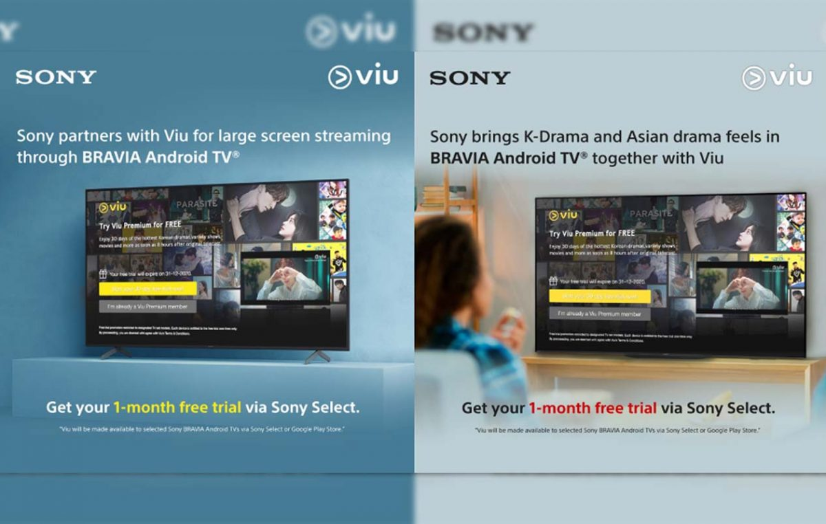 Sony Partners with Viu Philippines through BRAVIA Android TV