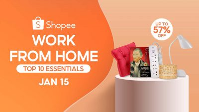 10 Work from Home Essentials for a Productivity 2021 from Shopee