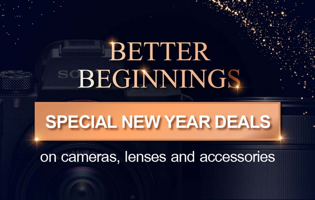 Celebrate Better Beginnings with the Sony New Year Special Deals