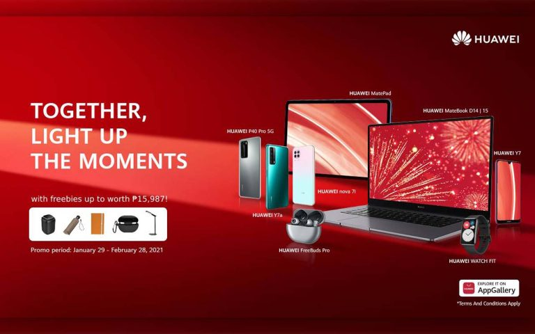 Get Amazing Deals on Devices with this Huawei New Year Promo