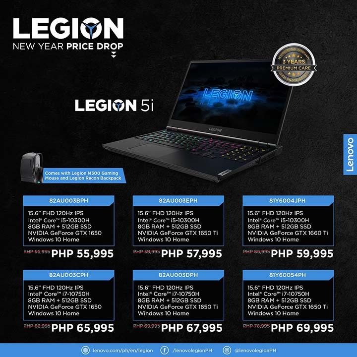 Legion NY price drop 4 - Legion 5i