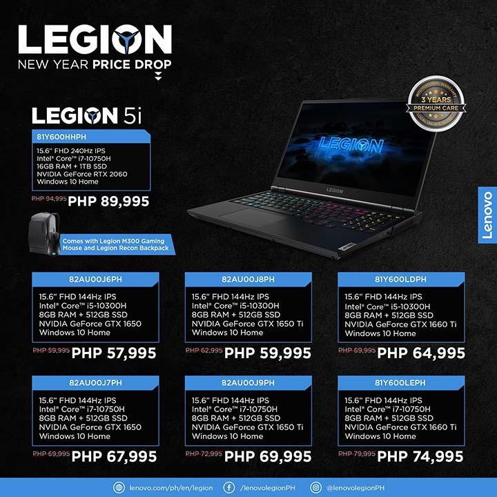 Legion NY price drop 5 - Legion 5i