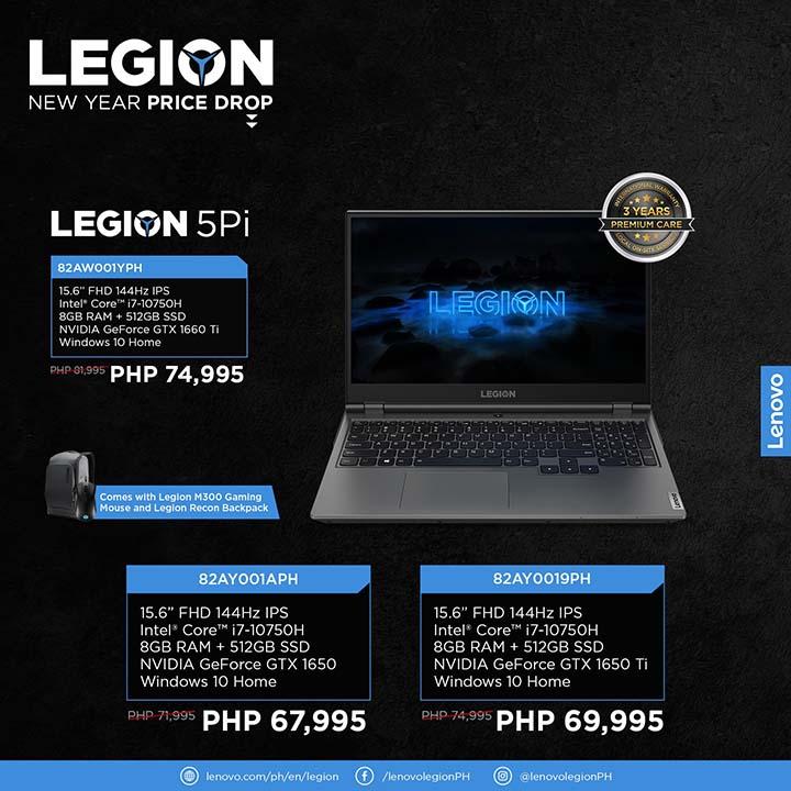 Legion NY price drop 6 - Legion 5Pi