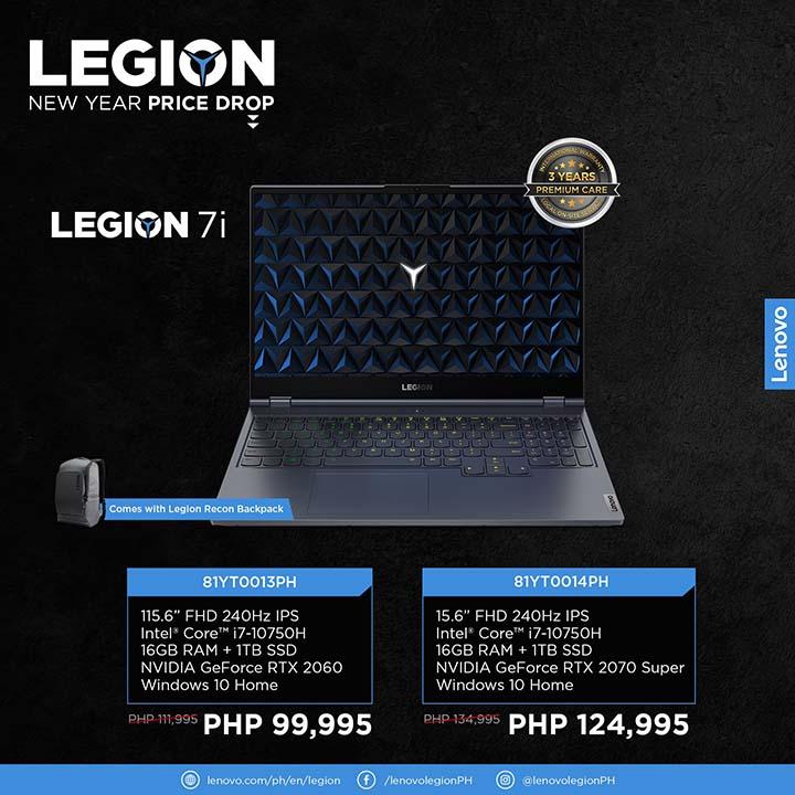 Legion NY price drop 7 - Legion 7i