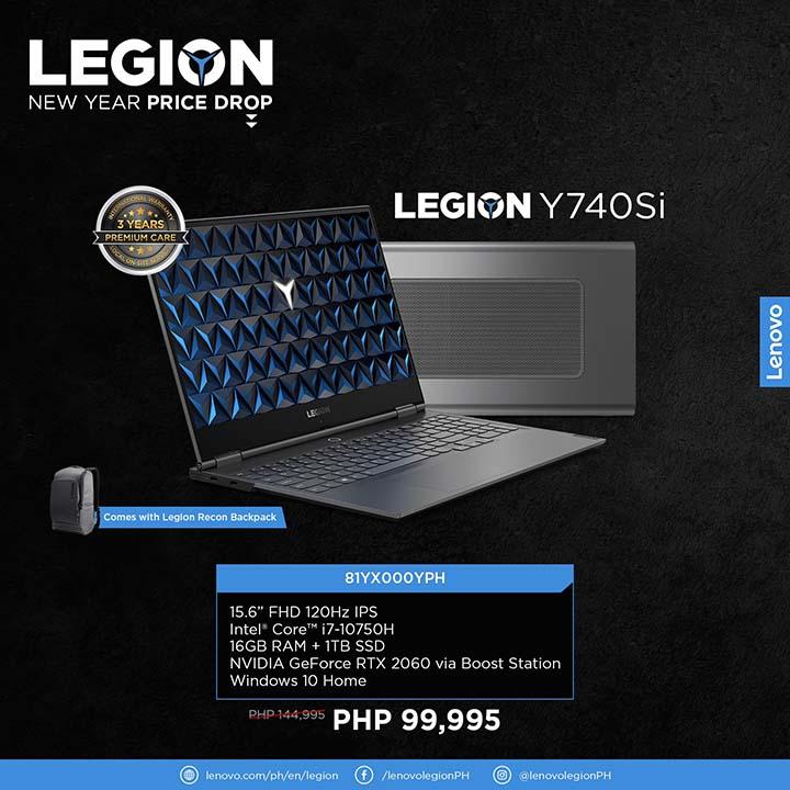 Legion NY price drop 8 - Legion Y740Si