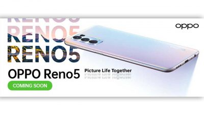 New OPPO Reno5 to be Introduced this February 2021