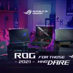 ROG 2021 Gaming Laptops w Ryzen 5000 Series Announced