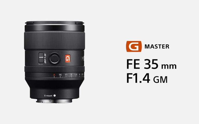 Sony Launches the G Master FE 35mm F1.4 GM Full Frame Lens