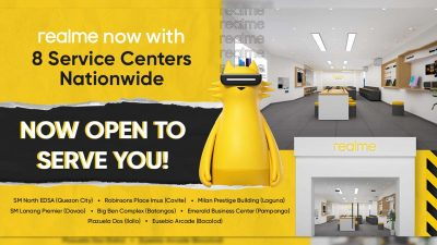 realme Philippines Opens 8 Dedicated Service Centers Nationwide