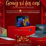 Get Lucky E-Vouchers for Every Purchase of Select ASUS Laptops