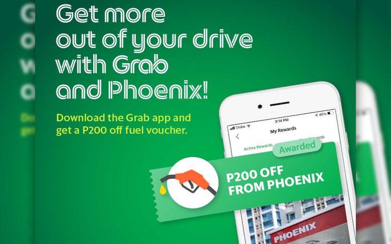 Grab Partners with Phoenix Petroleum – Free Fuel Vouchers for Davaoeños