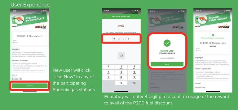 How to Redeem Grab x Phoenix Petroleum PHP 200 Free Fuel Voucher 2