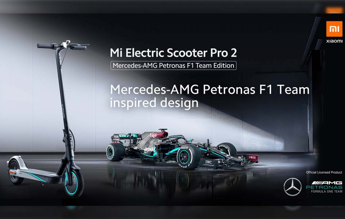 Introducing the Mi Electric Scooter Pro 2 Mercedes-AMG F1 Team Edition