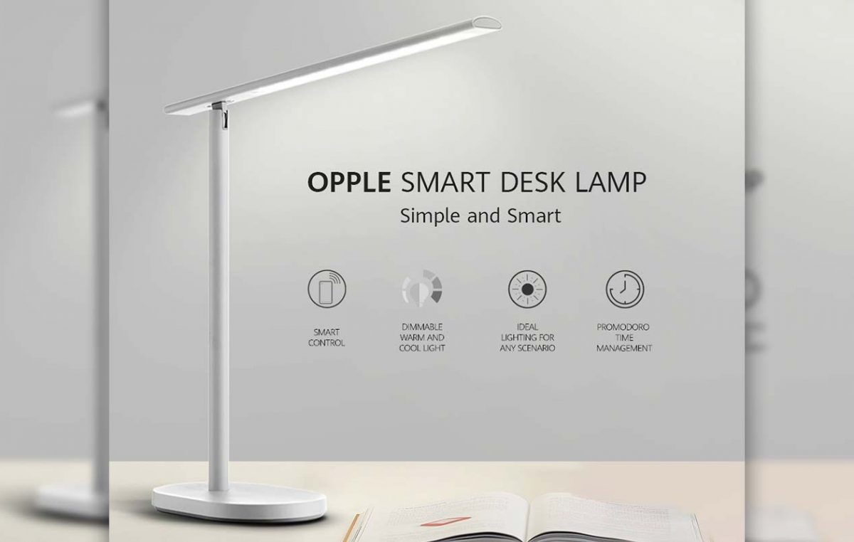 OPPLE Smart Desk Lamp Launches in PH – Works with HUAWEI HiLink