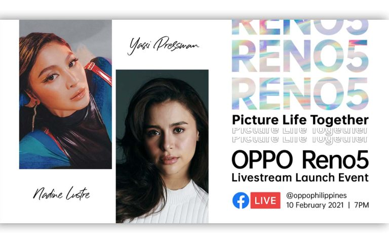 #PictureLifeTogether – OPPO Reno5 to be Launched Live on February 10