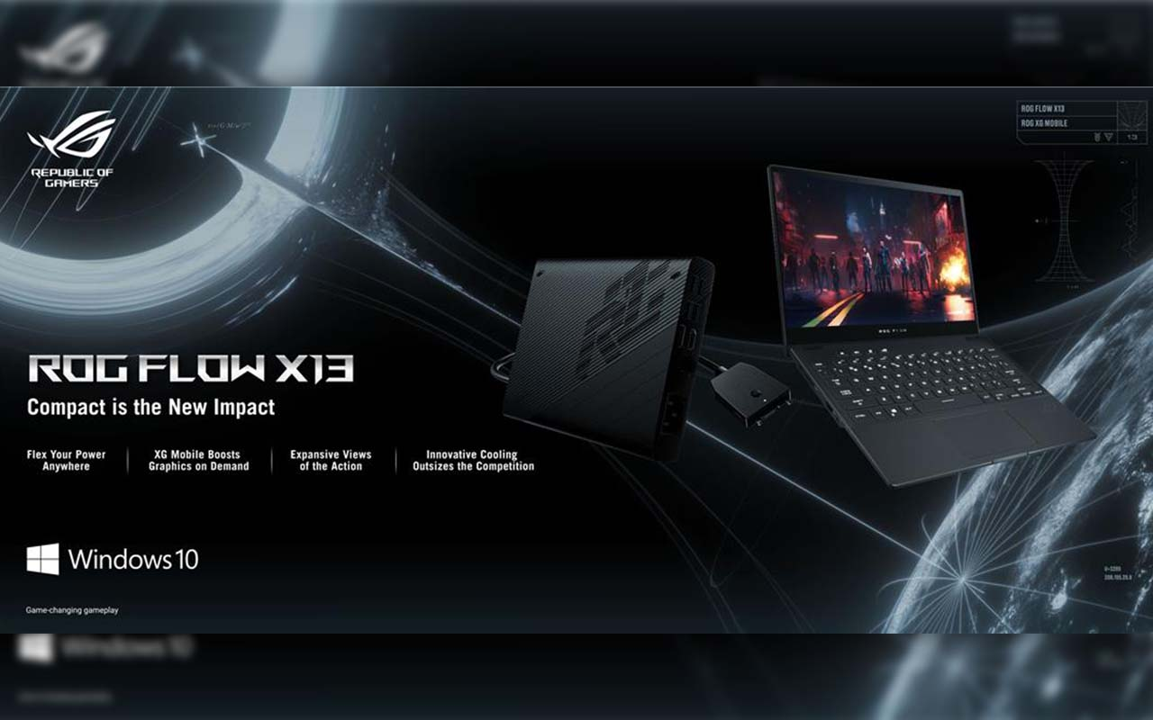 ROG PH just Launched the ROG Flow X13 and ROG XG Mobile